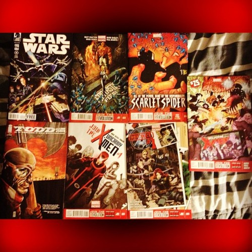 #NewComics!!! #StarWars #ToddTheUgliestKidOnEarth#FantasticFour #UncannyXMen #Wolverine & the #Xmen #ScarletSpider #Secret#Avengers #Marvel #DarkHorse #Image #Comics #ReadingComics #Nerd #Geek