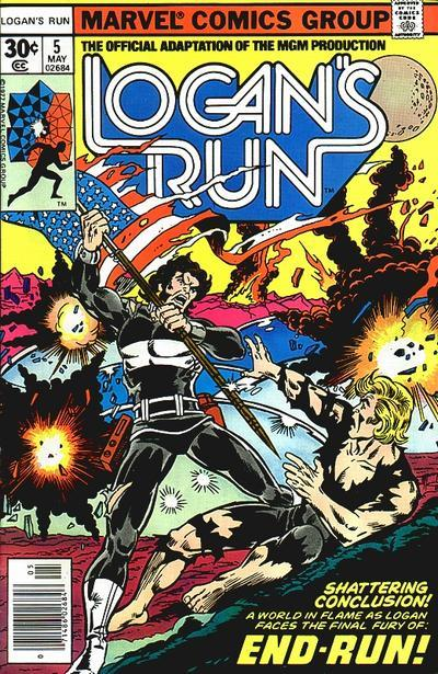 70scomiccovers:  Logan's Run 5, May 1977
