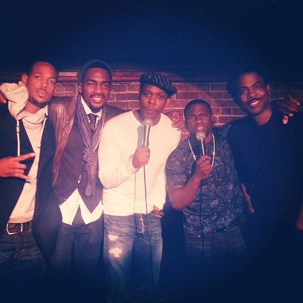 Chris Rock - Last night was EPIC…Dave Chappell, Chris Rock, Marlon Wayons, Bell Belamy & Myself al