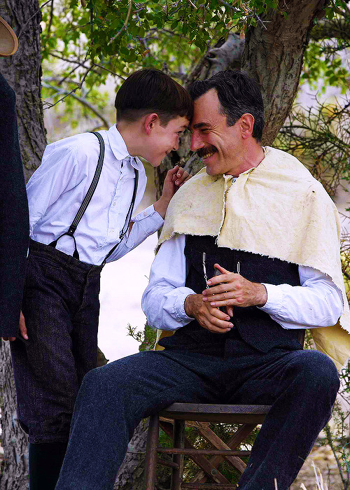 "disneybarbie:   In an interview, Daniel Day-Lewis told the story of what happened when Dillon Freasier's mother researched the past roles of the man who would be playing alongside her son: ""She thought she better check out this bunch of people taking care of her son. So she got Gangs of New York. Absolutely appalled! She thought she was releasing her dear child to this monster. And so there was a flurry of phone calls and somebody sent a copy of The Age of Innocence."""
