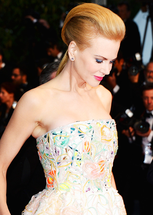 Nicole Kidman wears Christian Dior Spring 2013 Couture at the Opening Ceremony and 'The Great Gatsby' Premiere during the 66th Annual Cannes Film Festival at the Theatre Lumiere on May 15, 2013 in Cannes, France.