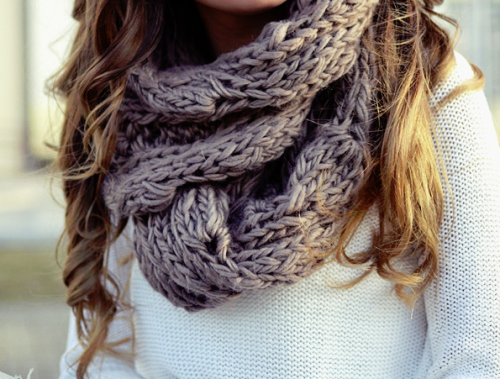 forever-and-alwayss:  loveee the scarf.