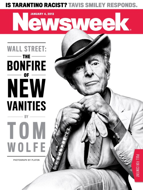 "In 1987, novelist Tom Wolfe evoked the passion of New York and Wall Street culture in the famous book Bonfire of the Vanities. The traders of the 1980s were described as ""masters of the universe."" But what's it like working there today? For this week's Newsweek, Wolfe revisits that subject by focusing on Wall Street as it is today. An excerpt:    Up until 2006 a spirit of manly daring had pervaded Wall Street's investment bankers. Trading stocks and bonds was the next thing to armed combat. The warriors, i.e., traders and salesmen, told of how fighting in combat—confronting not an armed enemy but a fan-shaped array of computer screens—created a euphoria more exhilarating than any other conceivable state of mind. It was the highest of all highs—and thanks not only to the earth-orbiting ecstasy of the battle. There was also the not inconspicuous fact that these Boomtime Boys—many of them in their 20s, still young enough to blush—were knocking back a million dollars or more a year in bonuses, year after year …    Victory as recorded on those screens made them feel like Masters of the Universe. The phrase came from a 1987 novel, The Bonfire of the Vanities, whose main character, Sherman McCoy, is a 38-year-old trading-floor salesman for an investment bank averaging a million dollars a year in bonuses and living on the top-nob part of Park Avenue. One day his trading-floor telephone rings, and he picks it up and takes a buy order for so many zero-coupon bonds his commission will be $50,000. Took 20 seconds, maybe 30, and—just like that—he's $50,000 richer! The words suddenly flash into the Broca's area of his brain: ""I'm a Master of the Universe!"" Jesus Christ!—came straight from his 6-year-old daughter's toy set of plastic figurines, the ""Masters of the Universe,"" who had names like Ahor, Blutong, and Thonk and look like Norse gods who pump iron and drink creatine and human-growth-hormone smoothies.    In real life, young men on trading floors all over Wall Street read that book and got a kick out of that name, Masters of the Universe. They said it aloud only in a jocular way—they weren't fools, after all—and never mentioned the wave of exaltation that swept through their very souls: I'm a Master of the Universe …   The market crash in November 1987 didn't diminish that sublime bliss for longer than a few gulps. Likewise the ""dotcom"" crash of 2000—02. Even after 2002 the Masters of the Universe cast such a spell that an estimated 40 percent of the top 10 percent of the graduates of Harvard, Yale, and Princeton headed for jobs on Wall Street.    In 2004 a well-known trader for Deutsche Bank, John Coates, a Canadian, absolutely baffled his mates, his fellow warriors of the battle screens, by quitting Wall Street and heading off to England to re-up at his alma mater, Cambridge University, as a first-year graduate student in neuroscience. Neuroscience?! In a Second World country, England?!    The truth was, Coates never got Wall Street off of his mind for a moment. He was intrigued by the fact that a bunch of impulsive, juiced-up, howling, heedless young men had their hands on billions of dollars every day. He was turning to neuroscience in hopes of finding out what on earth could possibly account for… the Masters of the Universe.     Read it online today—or check out the iPad app for a few extra videos we made with the novelist."