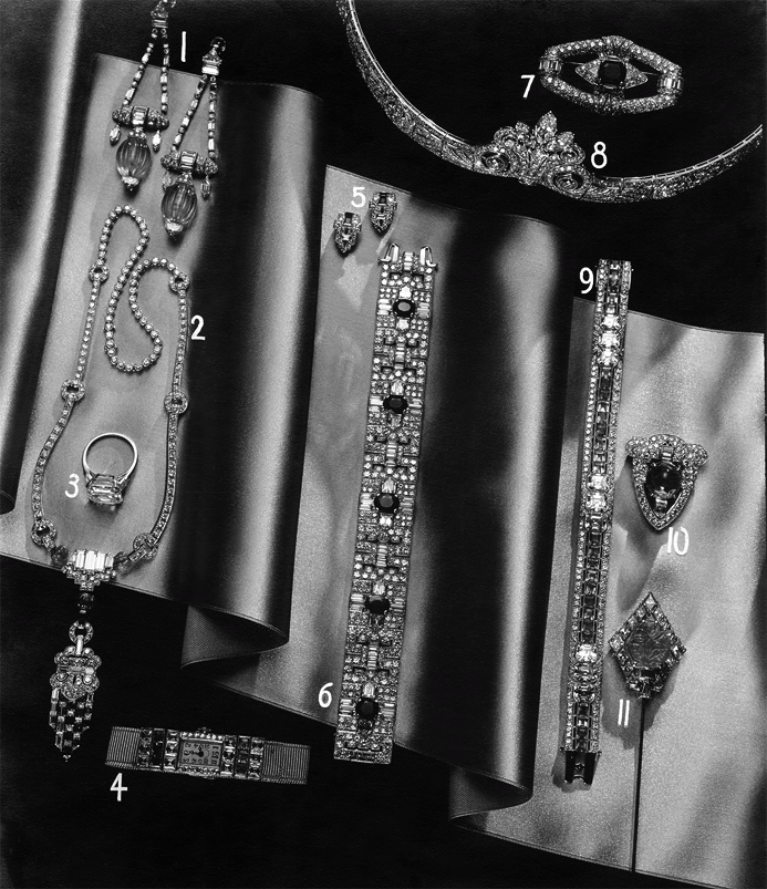 New York society maven Janet Ryan's jewelry collection from Tiffany & Co. Bruehl-Borges / © Condé Nast