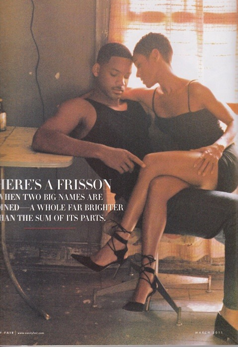 Will Smith and Jada Pinkett - Photographed by Annie Leibovitz for Vanity Fair Dec 1997