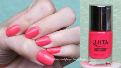 ULTA Salon Formula Nail Lacquer in Showgirl