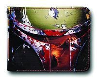 This Boba Fett billfold wallet is all types of cool. Not only is it geek it may even be a little street. (via Star Wars Boba Fett Billfold Wallet at TFAW.com)