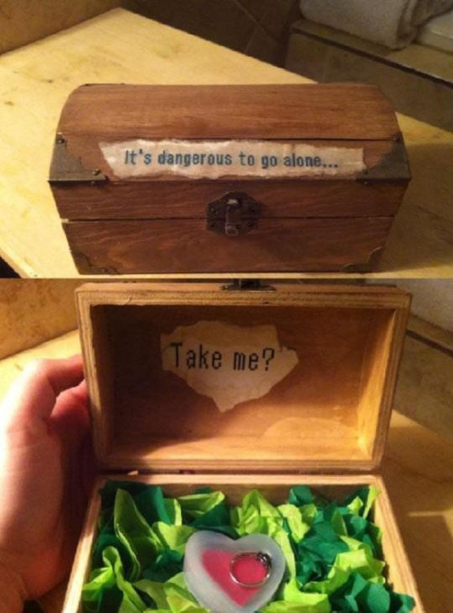 Someone propose to me like this please? :*