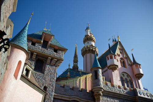 disneyendlessmagic:  Sleeping Beauty Castle by HarshLight on Flickr.