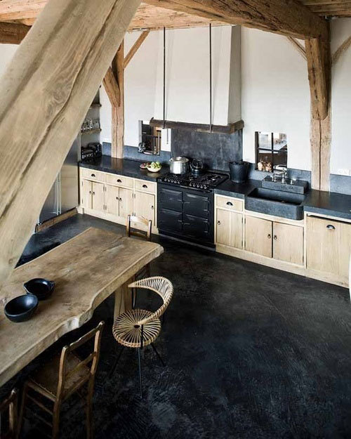 Young house kitchen