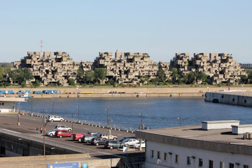 Habitat '67 (on a pier across from the Old Port)