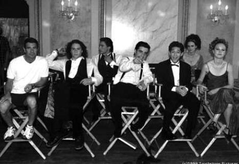 On set of 10 Things I Hate About You
