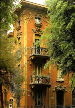 bluepueblo:  Balconies, Bologna, Italy photo via patricia