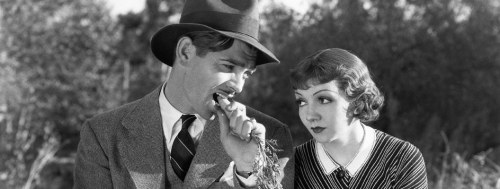 "It Happened One Night (1934). The first film ever to win the ""Big Five"" Academy Awards (Best Picture, Best Director, Best Picture, Best Actor, Best Actress, and Best Writing/Screenplay"
