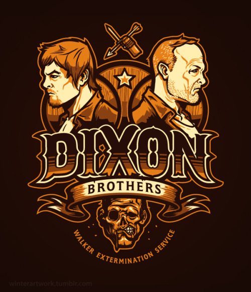Dixon Bros Walker Controlon Teefury today!RB Store (If you miss out)
