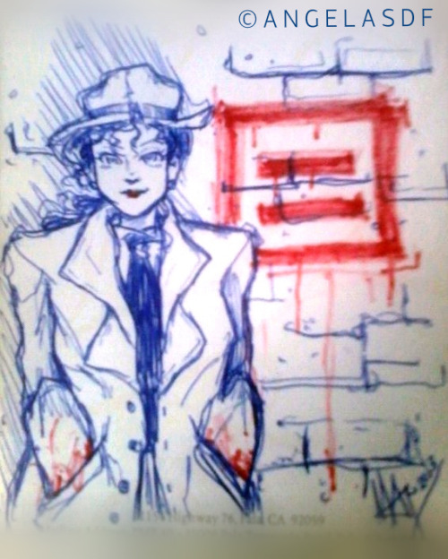 """Question Equality"": Renee Montoya / The Question, by angelasdf on DeviantArt."