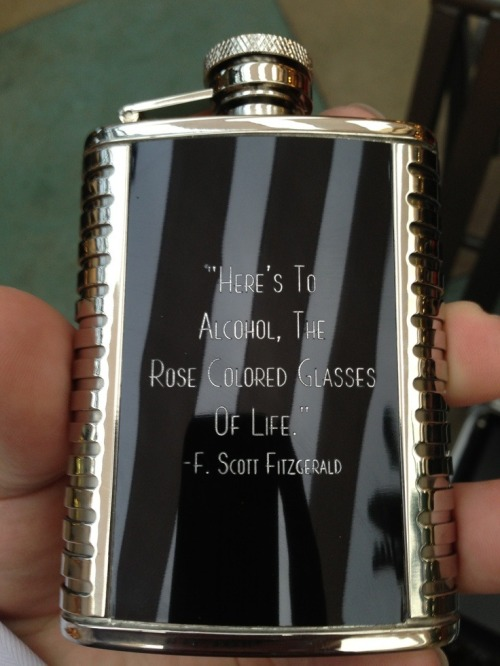 slim-calhoun:  femaleflaneur:  i need it  I need a flask like this.