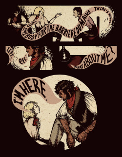 """Enjolras and his Lieutenants"", page 1."