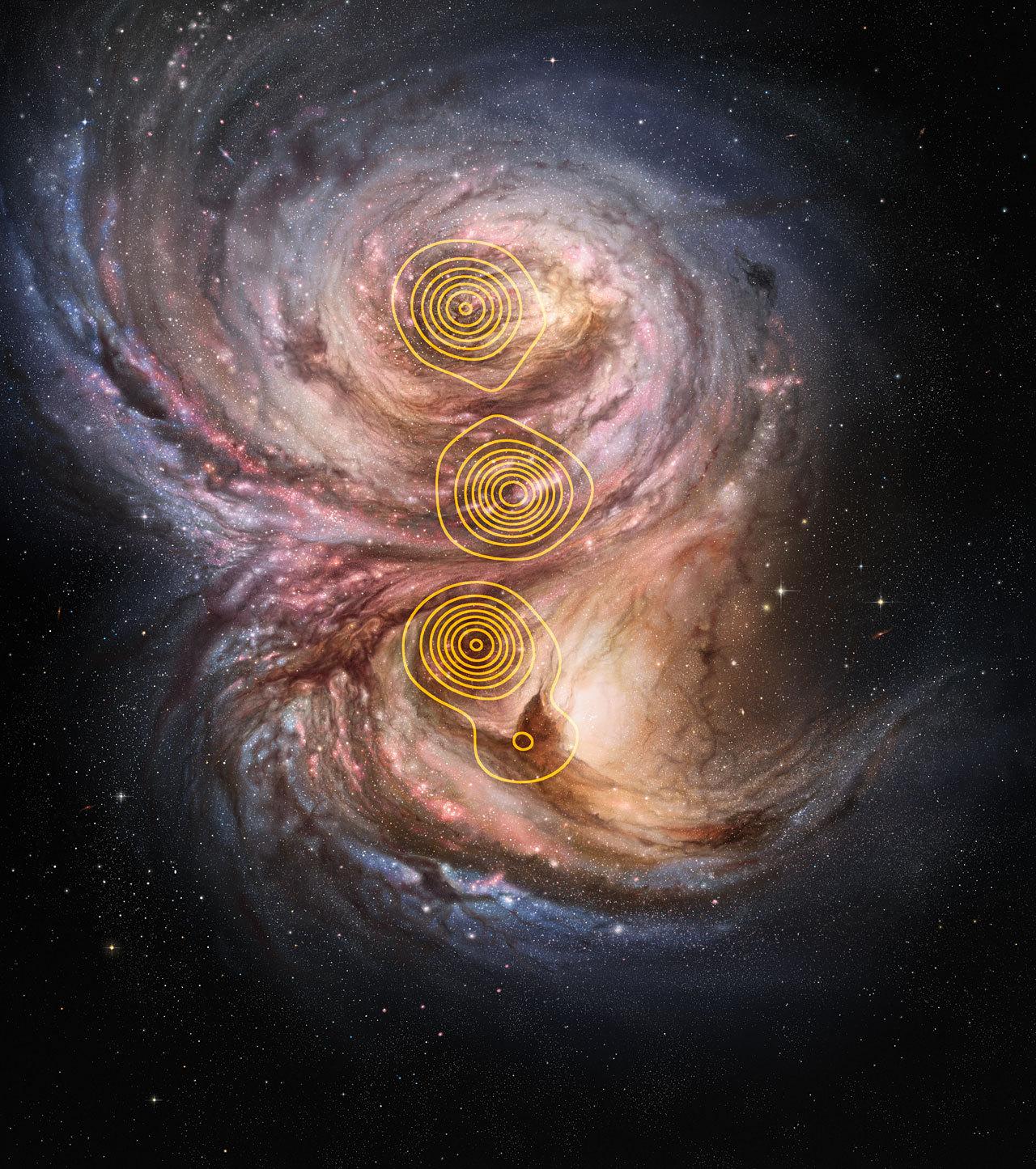 Star factories in the distant Universe Credit: ESO/M. Kornmesser/M. Swinbank et al.