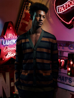black-boys:  Ty Ogunkoya by Stefan Khoo | Numéro Homme China