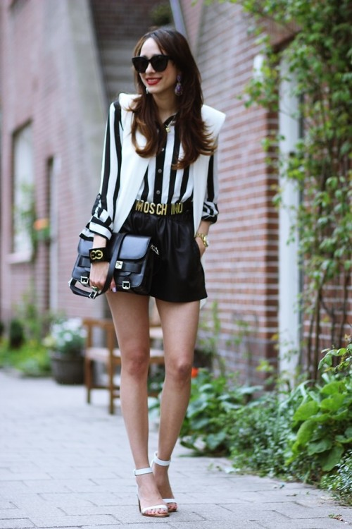 lookbookdotnu:  White and Black (by Virgit Canaz)