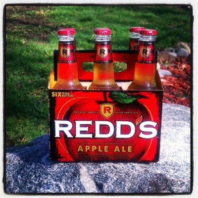 It's morning so I'm calling it apple juice. #ReddsAppleAle