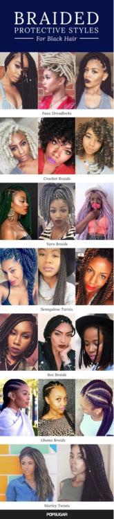 protected hairstyle hairstyles braids faux dreadlocks faux locs marley twist ghana braids box braids senegelesetwists yarn braids crochet braids cute hairstyles popsugar black hair cute look cute style Cute Hairstyle