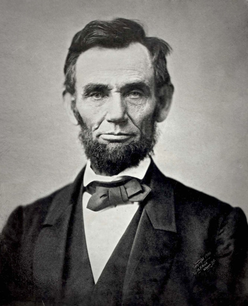"""Putting on (H)airs"" The Appendix has a great story about Abraham Lincoln's famous beard (or ""whiskers,"" as writers of that time would say). He grew it a few weeks before his inauguration, supposedly on the advice of Grace Bedell, an eleven year old girl who wrote him a letter during his campaign. An excerpt from the article:  Rather, Lincoln's whiskers were meant to signify urbanity and refinement. Adopting a fashionable style of grooming—the wreath of whiskers that had been a fixture of men's fashion for decades—Lincoln offered a visual counterpoint to persistent barbs about his rough manners, rural upbringing, and rustic sense of humor. Holzer, then, was at least partly right about the meaning of Lincoln's whiskers. He was, in fact, shedding the campaign image of the frontier railsplitter. But instead of adopting the look of a firm patriarch (or even a stern sexton), he was cultivating the appearance of a man of the world: a person of humble origins but hard-earned cultural capital. He had good reason to do so. Since assuming the national stage, Lincoln had been dogged by doubts about his social graces. An article from the Columbus, Ohio Crisis, for instance, lampooned his ignorance of classical languages, while informing polite readers that Lincoln had only recently ""abstained from facetiously designating hotel napkins as towels."" And one contemporary, recalling an encounter between the former Secretary of the Navy George Bancroft and Lincoln noted a ""most striking"" contrast between the two: ""the one courtly and precise in his every word and gesture, with the air of a trans-Atlantic statesman; the other bluff and awkward, his every utterance an apology for his ignorance of metropolitan manners and customs."" Eager to dispel these aspersions—especially in light of unfavorable comparisons between himself and the stately Jefferson Davis—Lincoln grew fashionable whiskers, not a patriarchal beard. What does this story tell us about Old Abe Lincoln? Besides the obvious—that the ""most famous beard in American history"" was not a beard at all—it reveals something about the nature of power in Civil War-era America. Taking command of a sinking ship of state and confronted with dire questions about his fitness for office, Abraham Lincoln chose a set of symbols that emphasized urbanity over more obvious emblems of authority. Calling on an old set of ideas about gentility and power, the president-elect claimed, in effect, that the right to rule hinged as much on politeness as on patriarchal strength or the imprimatur of the people. It's a strange story, to be sure. But it reminds us of the extraordinary currency of symbols like these: that faced with national dissolution and civil war, Lincoln sought the urbane sophistication required for his job in, of all places, his hair.  You can read the full story at The Appendix. (Story found via IQ Fashion)"