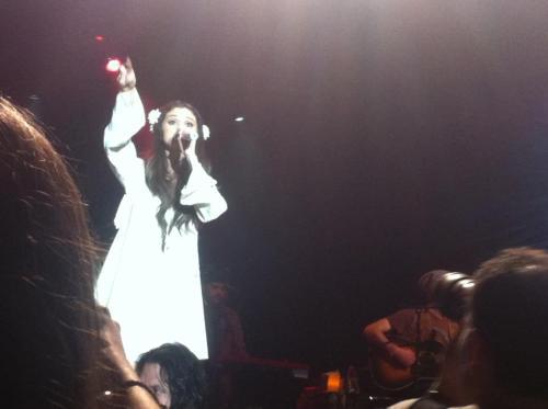 Thanks to Selena and UNICEF for a great night! Looking forward to what Sel's got for us in the new year. :) - Lillan