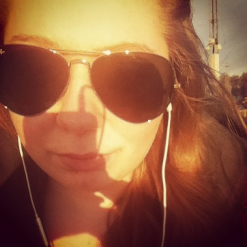 Sunshine makes me happy. #sun #girl #happy #sweden