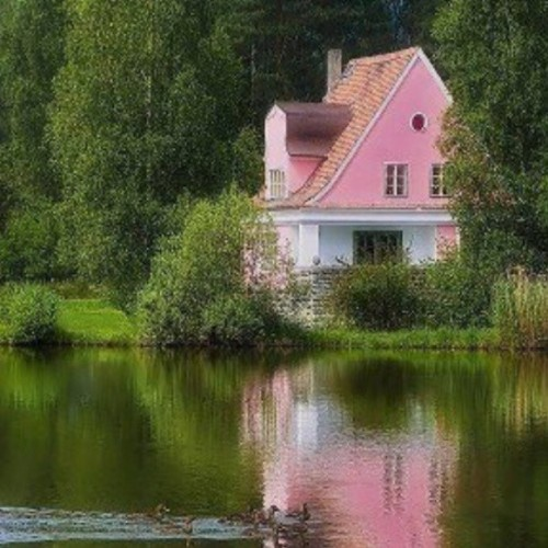 My #house #peaceful #wishlist #quiet #pink #solo #dolo #river #lake #stream #loner #orphan #serenity #solitude #inspire #motivation #inspiration #instagood