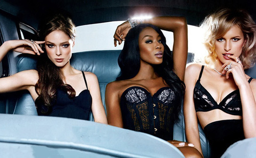 beingstylisheveryday:  Naomi Campbell | Karolina Kurkova | Coco Rocha for Instyle Magazine March 2013Because I Am Fabulous on We Heart It. http://weheartit.com/entry/53756424/via/KannyLane  TEAM COCO