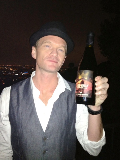 Our new Soul Sister Pinot Noir is LEGEN.. wait for it ..DARY #NeilPatrickHarris Did we mention that it's shipping now? Order a bottle here.