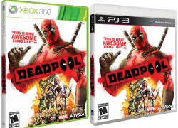 herochan:  Deadpool Game Box Art Released