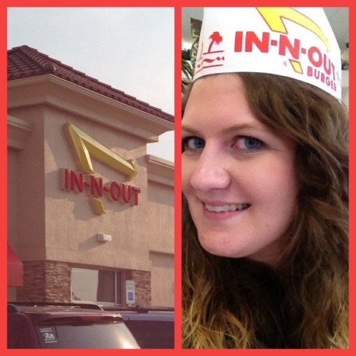 I was so excited to finally try this place.  (at In-N-Out Burger)