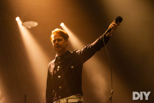 Richard Isaac photographs Kaiser Chiefs' recent gig at the Brixton Academy, London for DIY. Check out his shots of Ricky Wilson and co. here. You can also find his shots of support band Zulu Winter here.