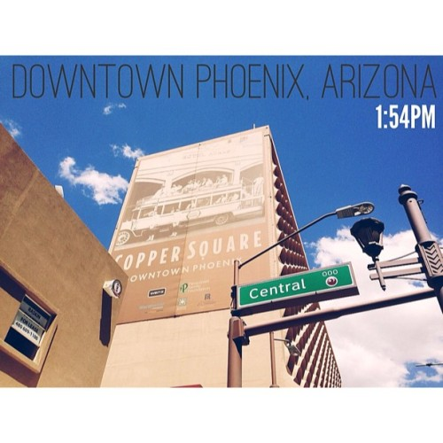 1:54PM - Downtown Phoenix, Arizona | Exploring Phoenix on a warm and beautiful sunny day.