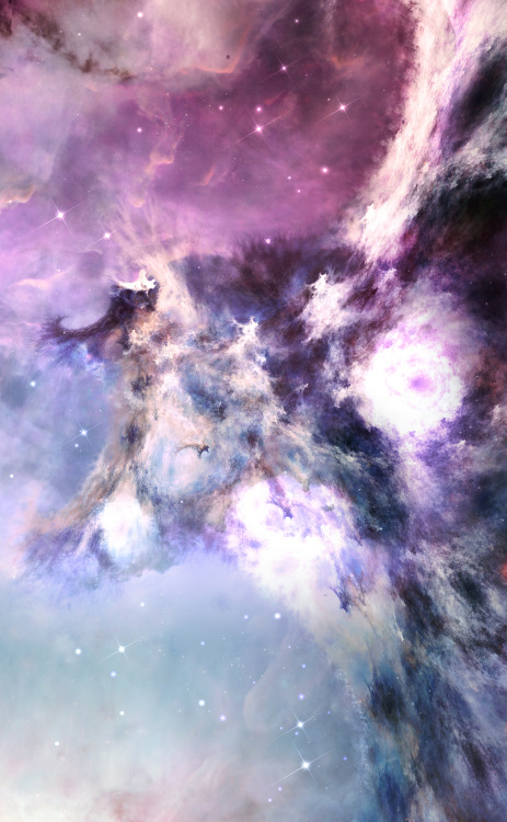 moon-kitties:  pyrrhic-victoria:  Prosperina Nebulae by ~tadp0l3   nature~astrology~spiritual