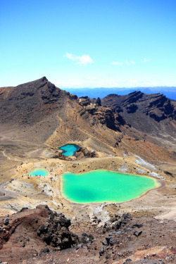 touchdisky:  Tongariro National Park | New Zealand by gsamie