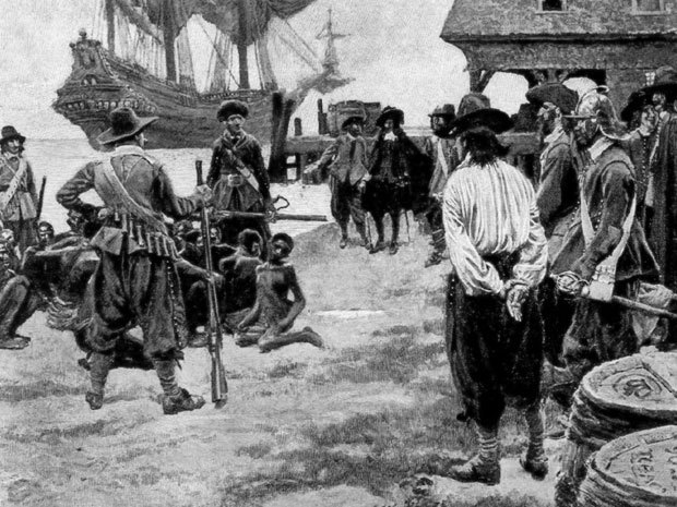 nationalpost:  Some of America's first settlers turned to cannibalism, 'powdered wife' to survive, scientists sayScientists revealed Wednesday that they have found the first solid archaeological evidence that some of the earliest American colonists at Jamestown, Virginia, survived harsh conditions by turning to cannibalism.For years, there have been tales of people in the first permanent English settlement in America eating dogs, cats, rats, mice, snakes and shoe leather to stave off starvation. There were also written accounts of settlers eating their own dead, but archaeologists had been skeptical of those stories.But now, the Smithsonian's National Museum of Natural History and archaeologists from Jamestown are announcing the discovery of the bones of a 14-year-old girl that show clear signs that she was cannibalized. Evidence indicates clumsy chops to the body and head of the girl, who appears to have already been dead at the time. (The Bettman Archive)