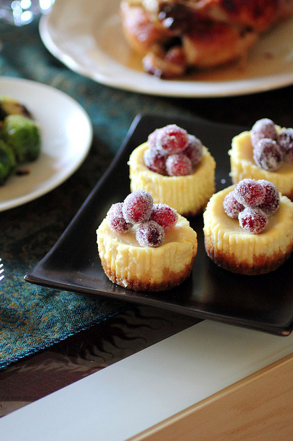 From Gastroposter Bella Mohamed: Mini lebneh baked cheesecakes