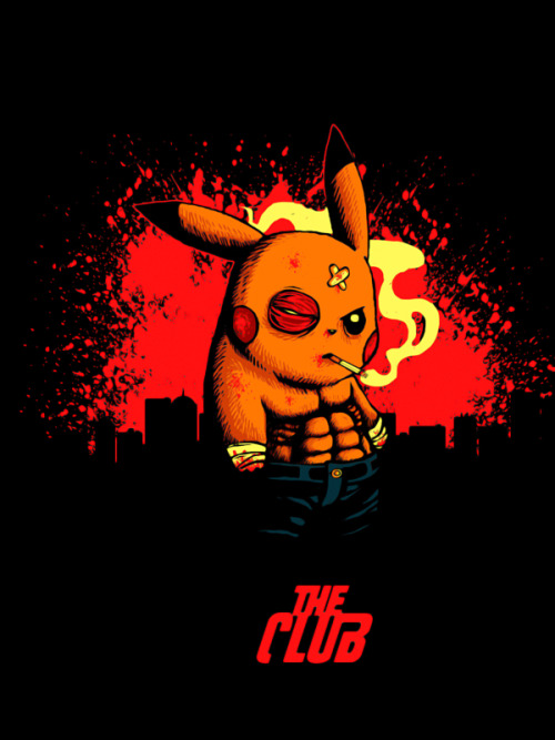 gamefreaksnz:  Club de Fight by vinsse Never talk about Pikachu.. Up for voting at Checkpoint
