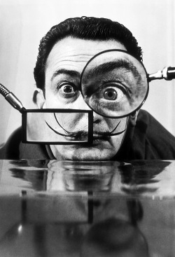 Salvador Dalí. Photo by Willy Rizzo