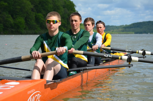Midwest 2013 Saint Edward High School Men's Novice Lightweight 4+ 4th place overall 3 seat