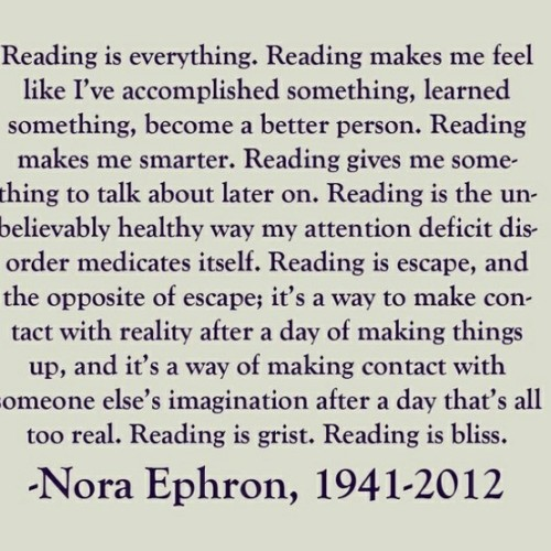 Reading is everything (via Books)