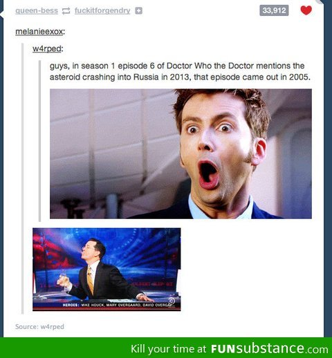 Holy mother of Doctor Who
