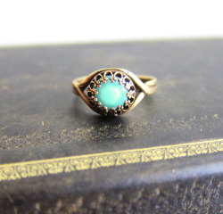 Turquoise Blue Mint Ring - JEWELSALEM