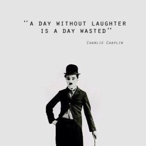 """A day without laughter is a day wasted."" #quote #life"