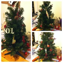 Thanks to Danielle, I have a Christmas tree! :)