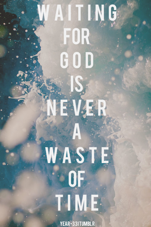 "spiritualinspiration:  Everyone goes through seasons of waiting. A lot of times, people just sit back and wait for God to do everything. But, you have to remember to do your part and make preparations. You have to talk like it's going to happen and act like it's going to happen.Some people might say, ""Well, what if I do this and it doesn't happen?"" But I say what if you do and it does happen? And even if things don't turn out the way you had hoped, you'd still be better off living your life positive and hopeful than you would to go around down and discouraged. I love what David said in the Bible, ""God, my times are in Your hands."" He was saying, ""God, I don't know when it's going to happen, but I know You know what's best for me."" I'm going to go out today expecting good things. And even if it doesn't happen, I'm not going to go to bed all disappointed. I'm going to go to bed knowing that I'm one day closer to seeing my dreams and desires come to pass!"